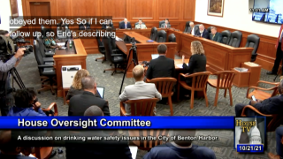 Lawmakers question local, state officials about Benton Harbor water crisis