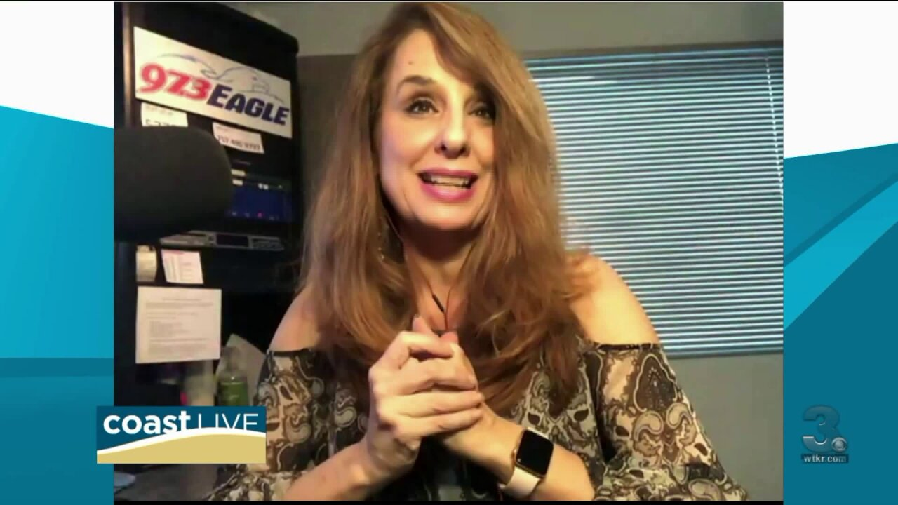 Karen West from Eagle 97 with country music news on Coast Live