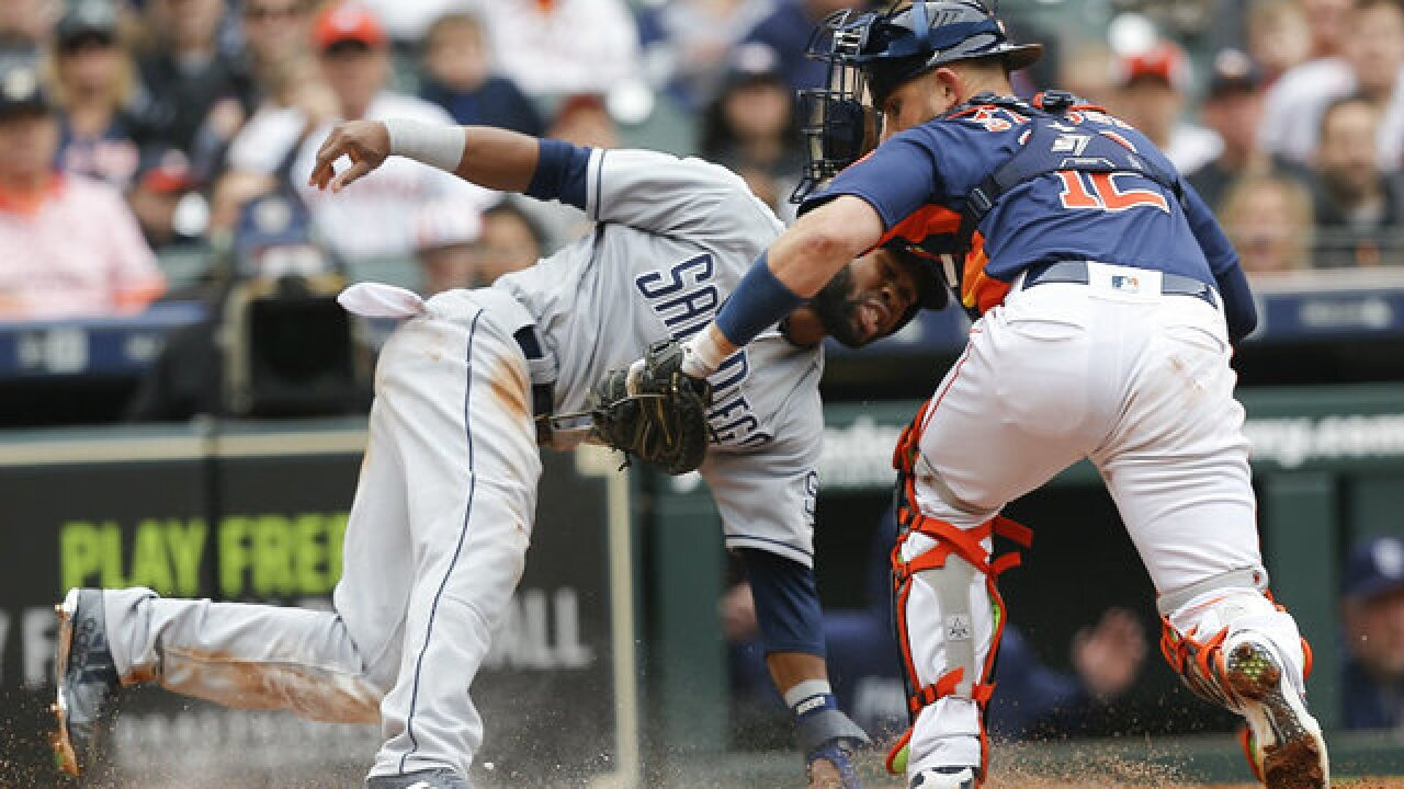 Padres drop series finale to world champion Astros