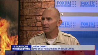 3 Questions with Bob Evans: State fire spokesman Jason Curry