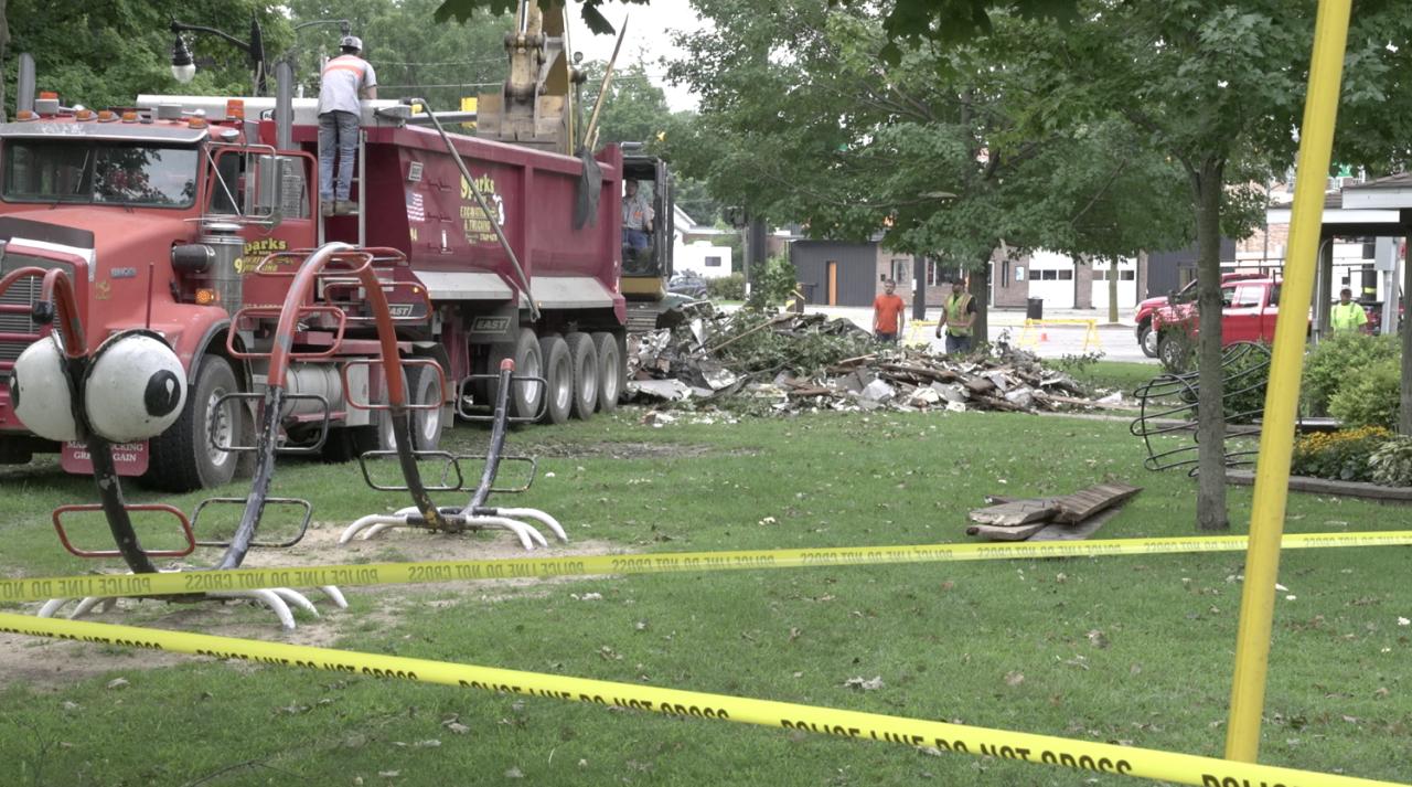 Jonesville storm damage