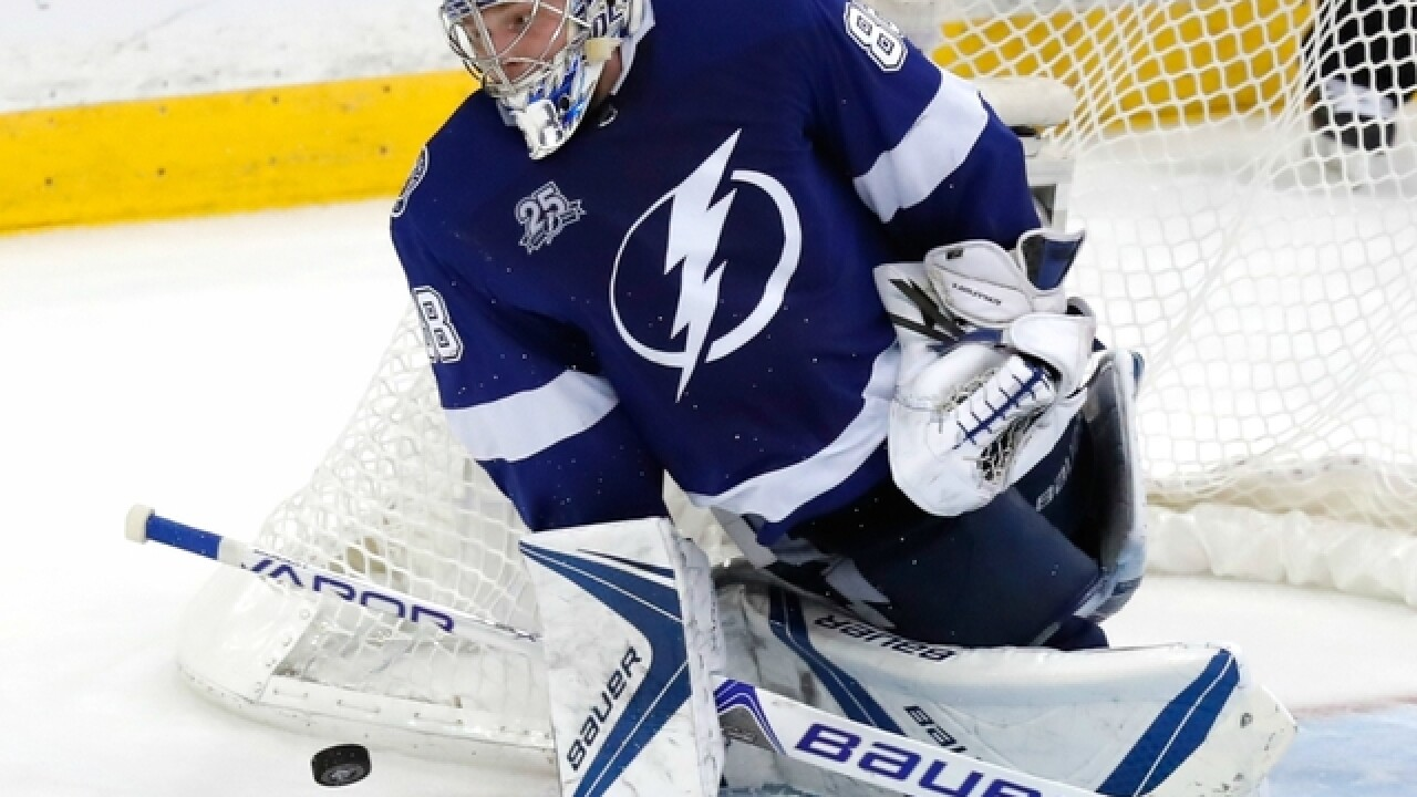 Vasilevskiy turns East Finals around for Bolts