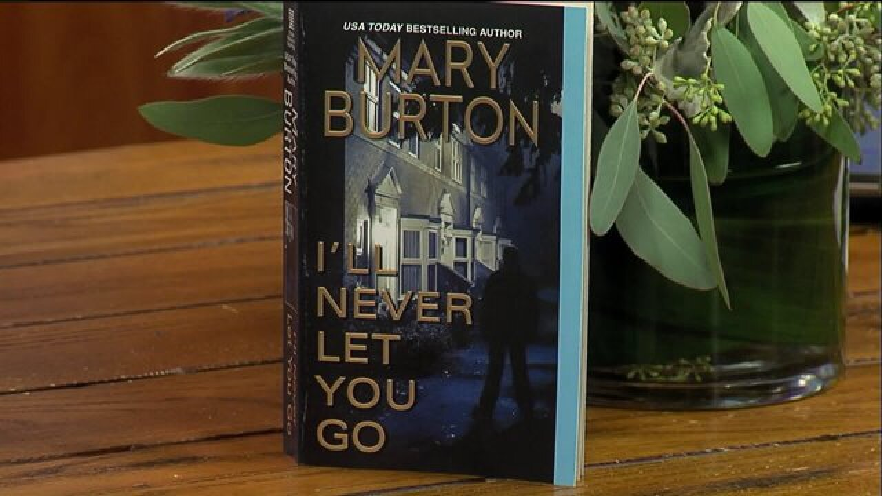 Bestselling author Mary Burton introduced her latest thriller, 'I'll Never Let YouGo'