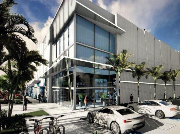 Boca Ice and Fine Arts Center exterior rendering