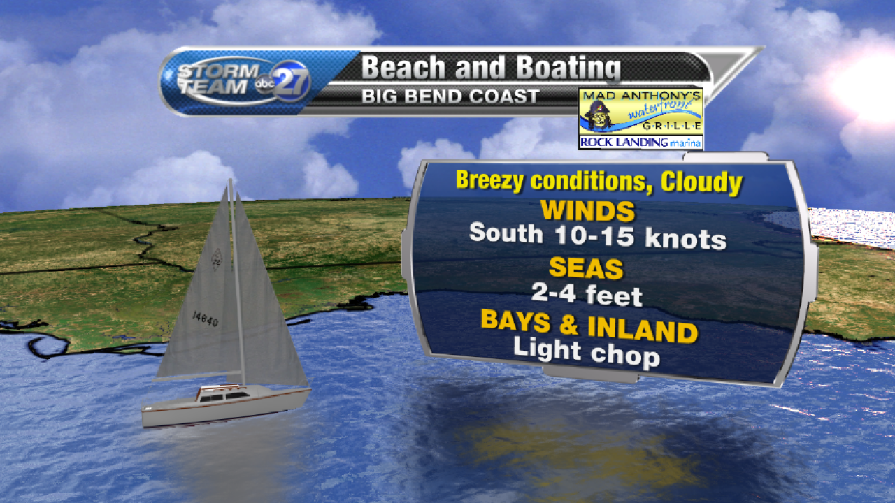 Beach and Boating forecast A (04/04/2017)