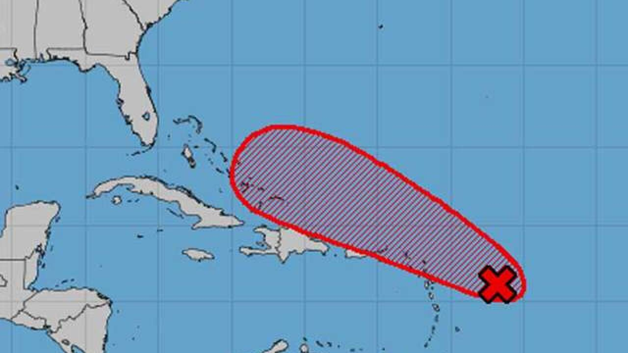 Tropical wave has 70% chance for development