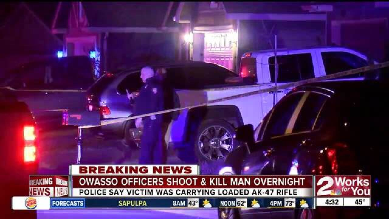 Officer Involved Shooting in Owasso