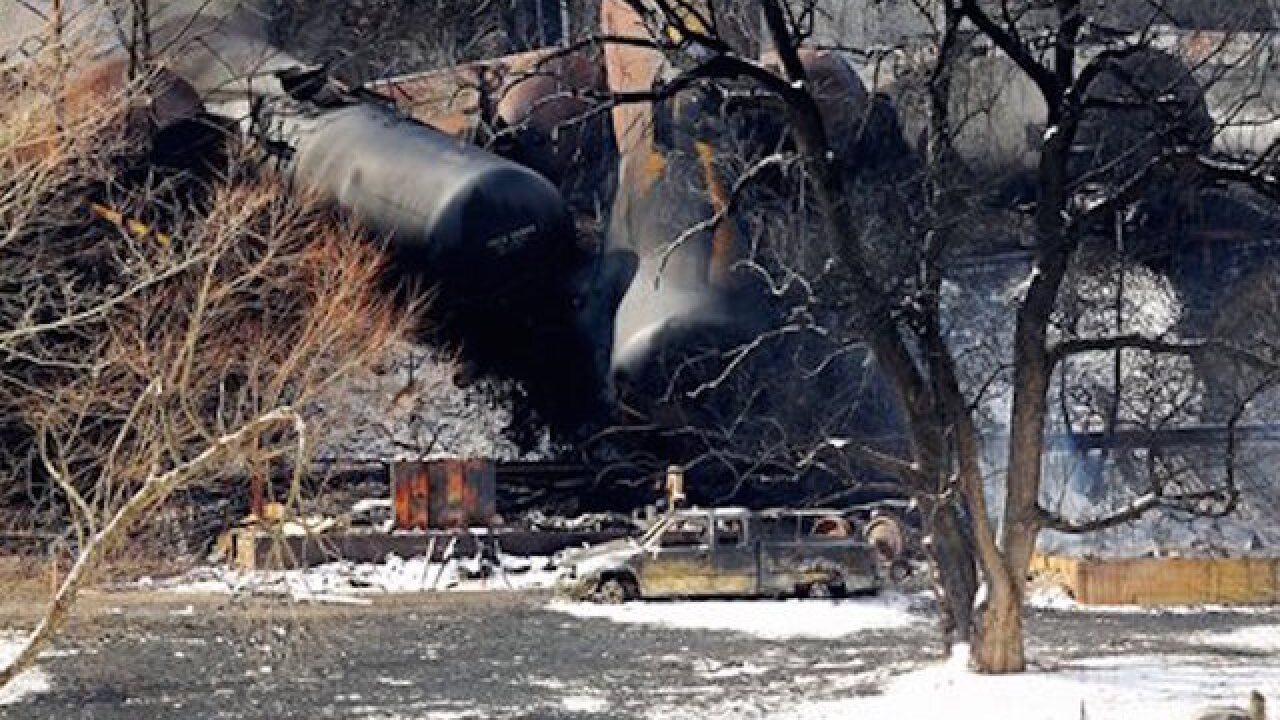 Cleanup conitnues from Oregon train derailment