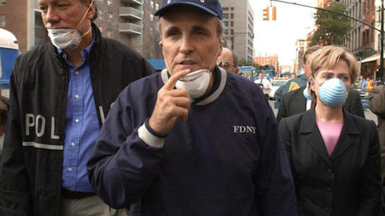Rudy Giuliani apologizes for claiming Clinton was absent after 9/11