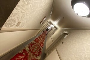 Fourth floor hallway