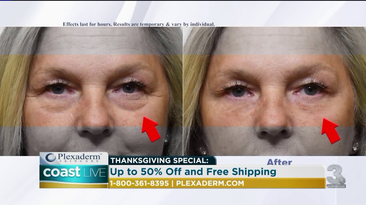 A way to get rid of under eye bags and wrinkles in just minutes on Coast Live