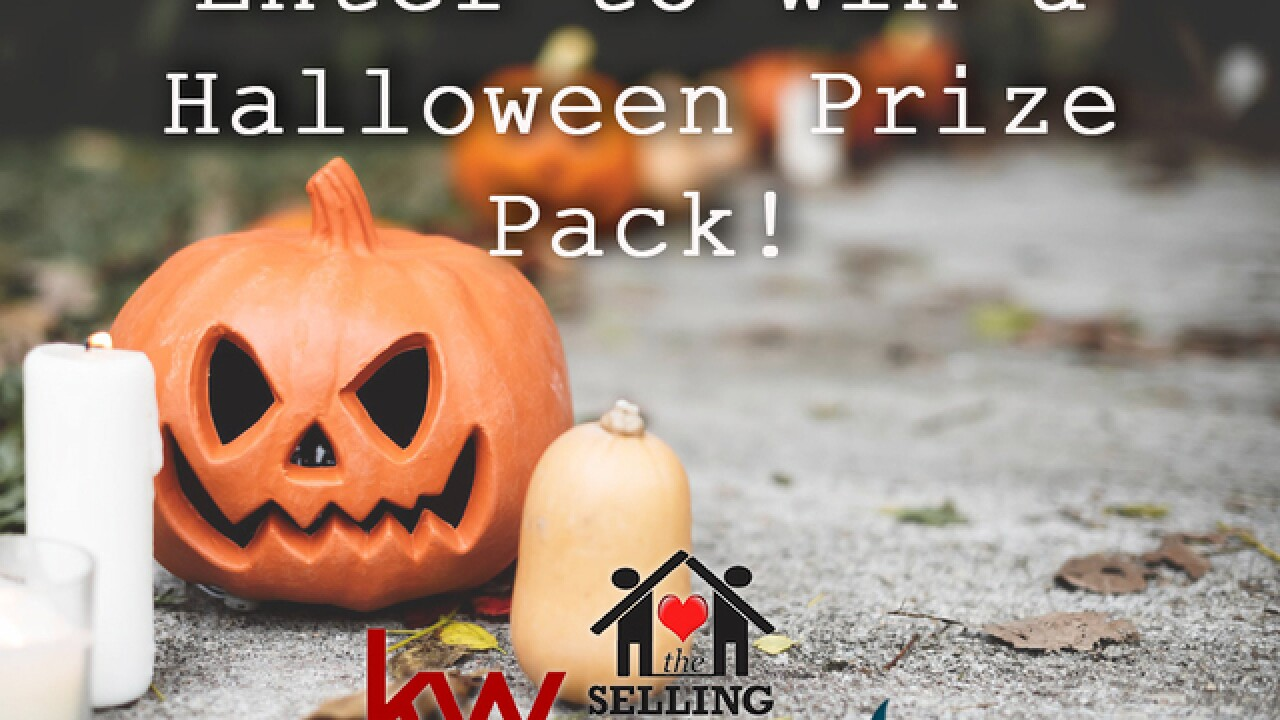 Enter for the chance to win a Halloween prize pack!