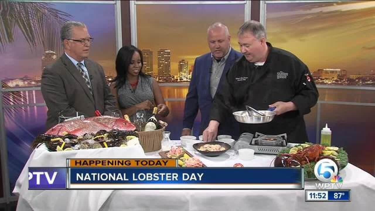 National Lobster Day: Lobster Alfredo recipe (9/25/18)