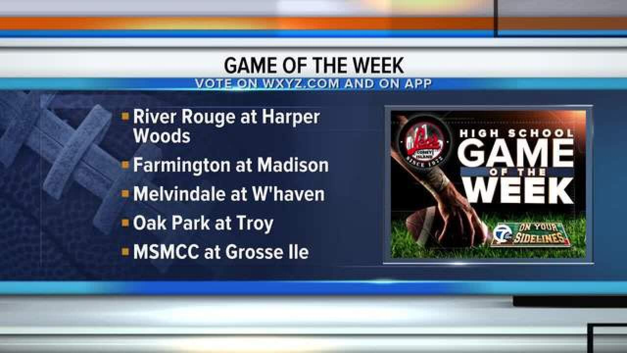 VOTE: WXYZ Leo's Coney Island Game of the Week