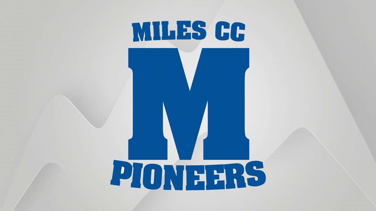 Miles Community College Pioneers logo