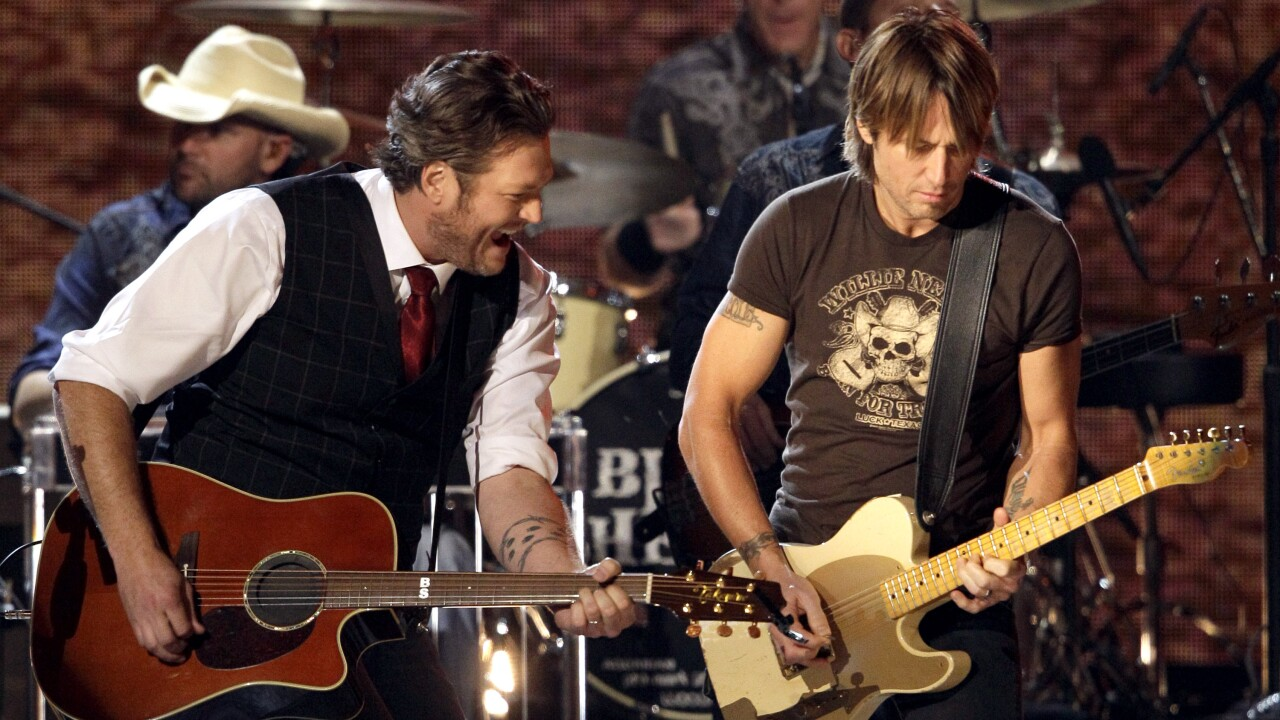 Blake Shelton, Keith Urban