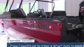 Massive boat shortage finds people waiting 3-6 months to get one, used boat prices rising