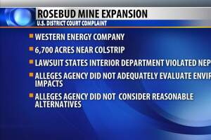 Environmental groups challenge Rosebud coal mine expansion