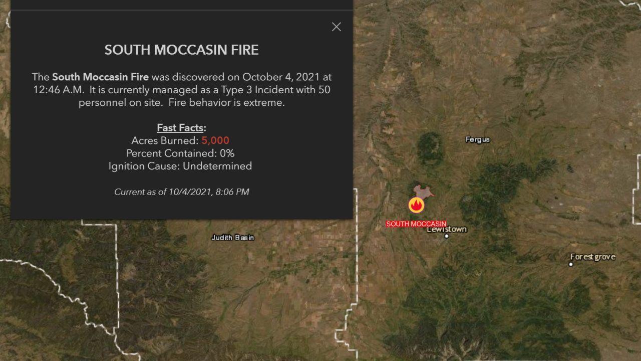 Montana Fire Info website