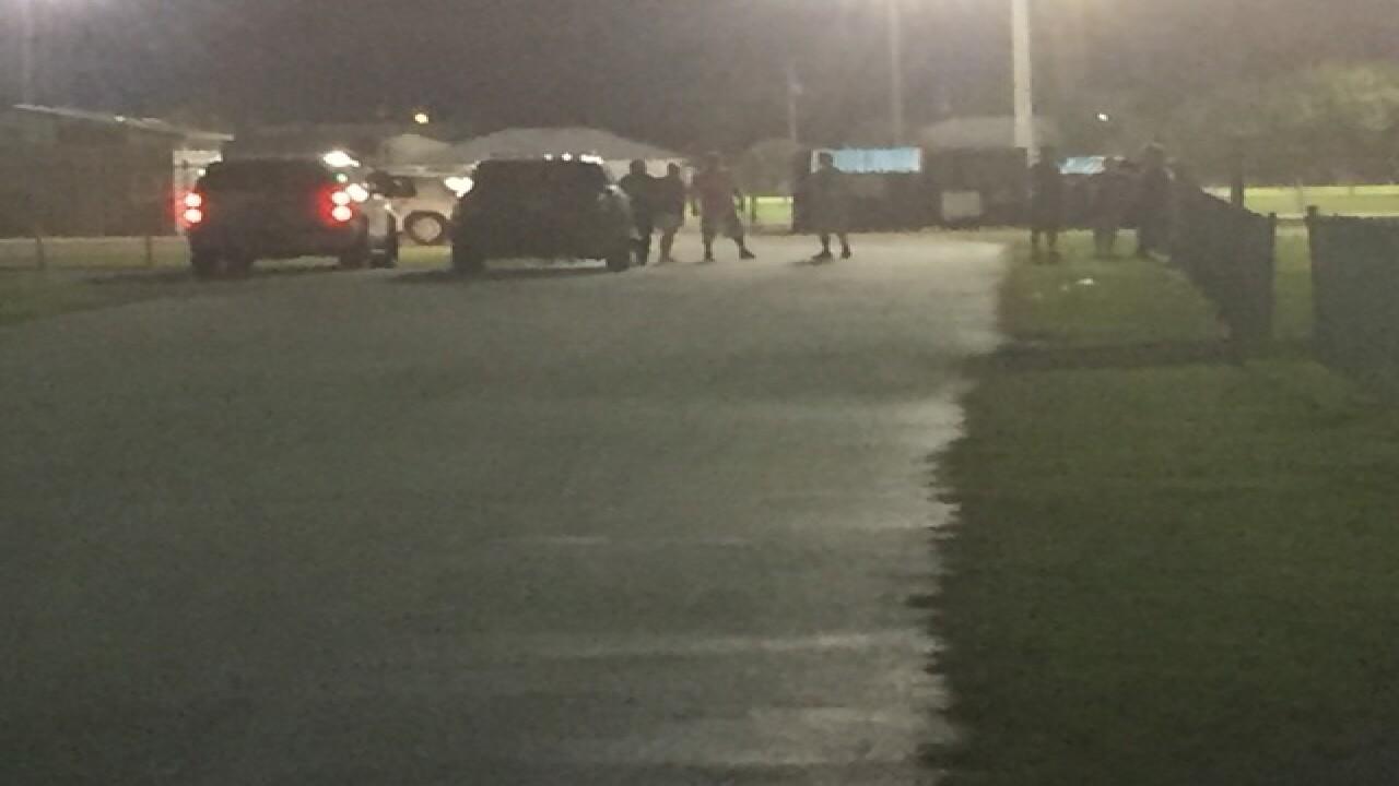 Kids evacuate Pop Warner football practice after man with gun threatens woman