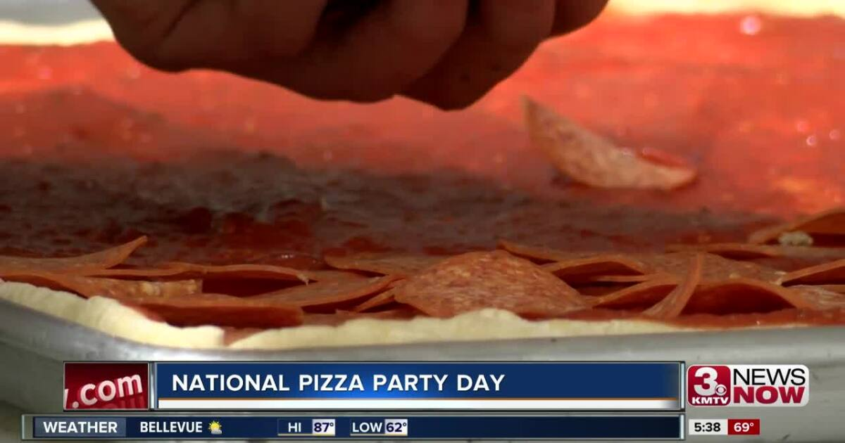 National Pizza Party Day in the Omaha Metro