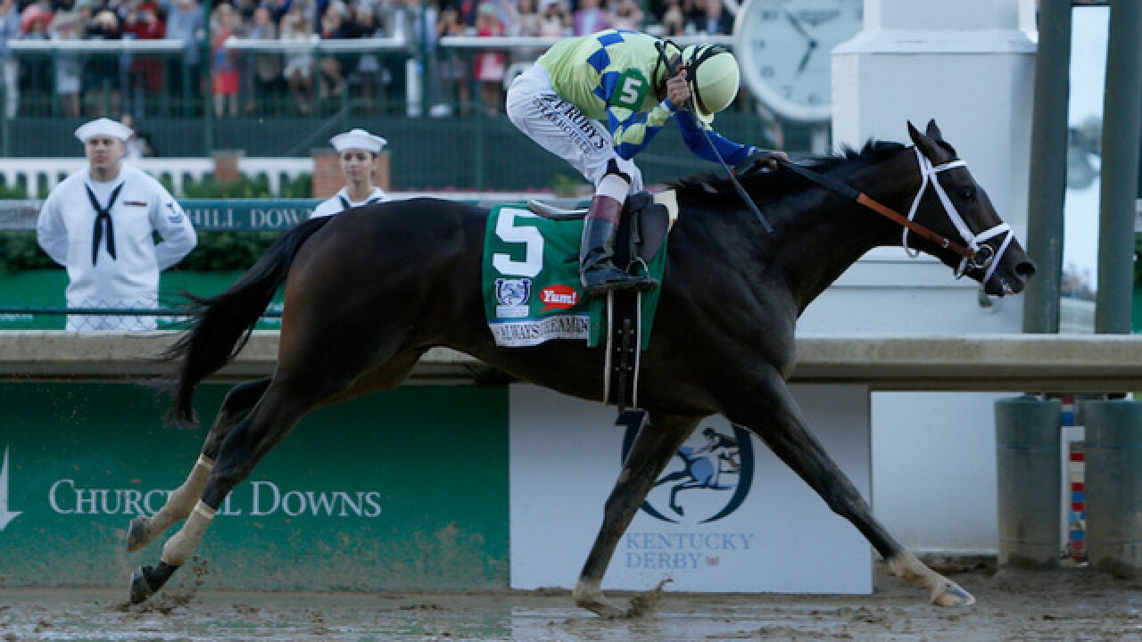 Always Dreaming wins 2017 Kentucky Derby