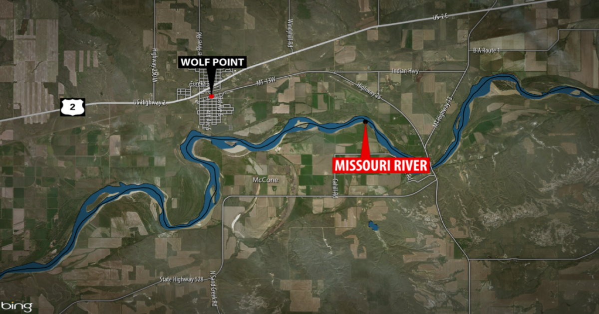 Missing man's body recovered from Missouri River near Wolf Point