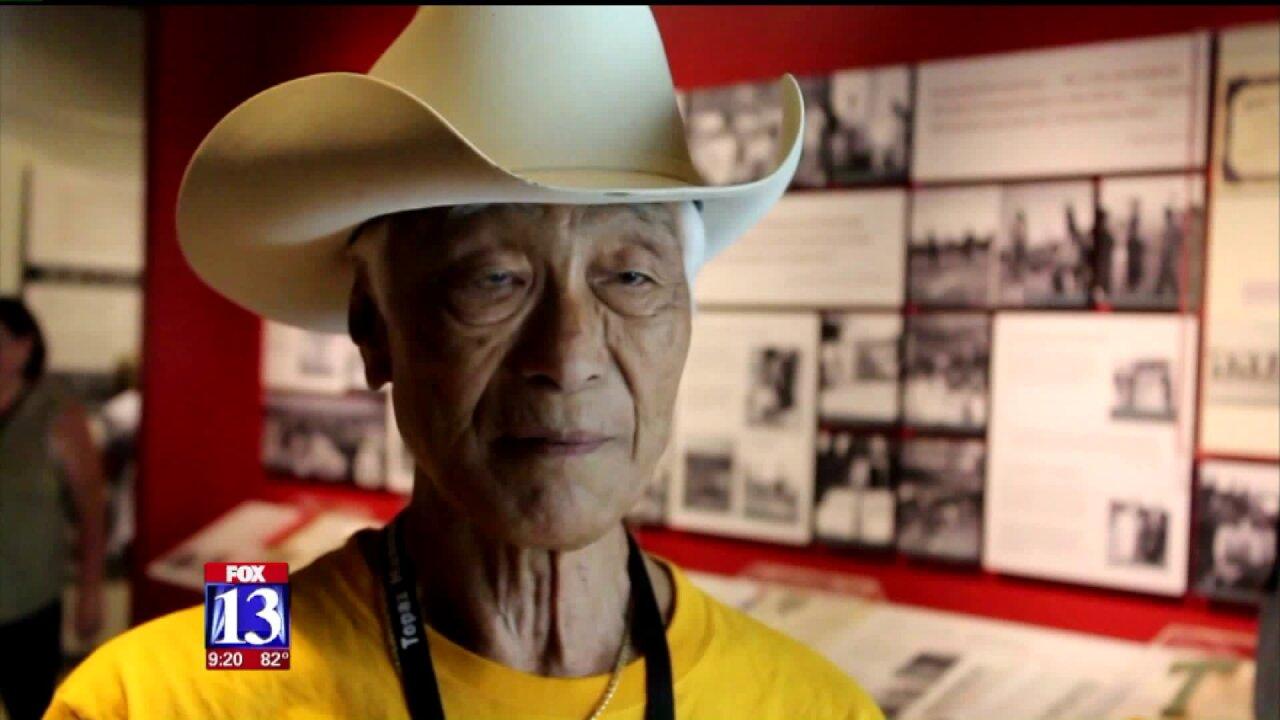 Japanese Americans held in Utah internment camp speak as Topaz Museumopens