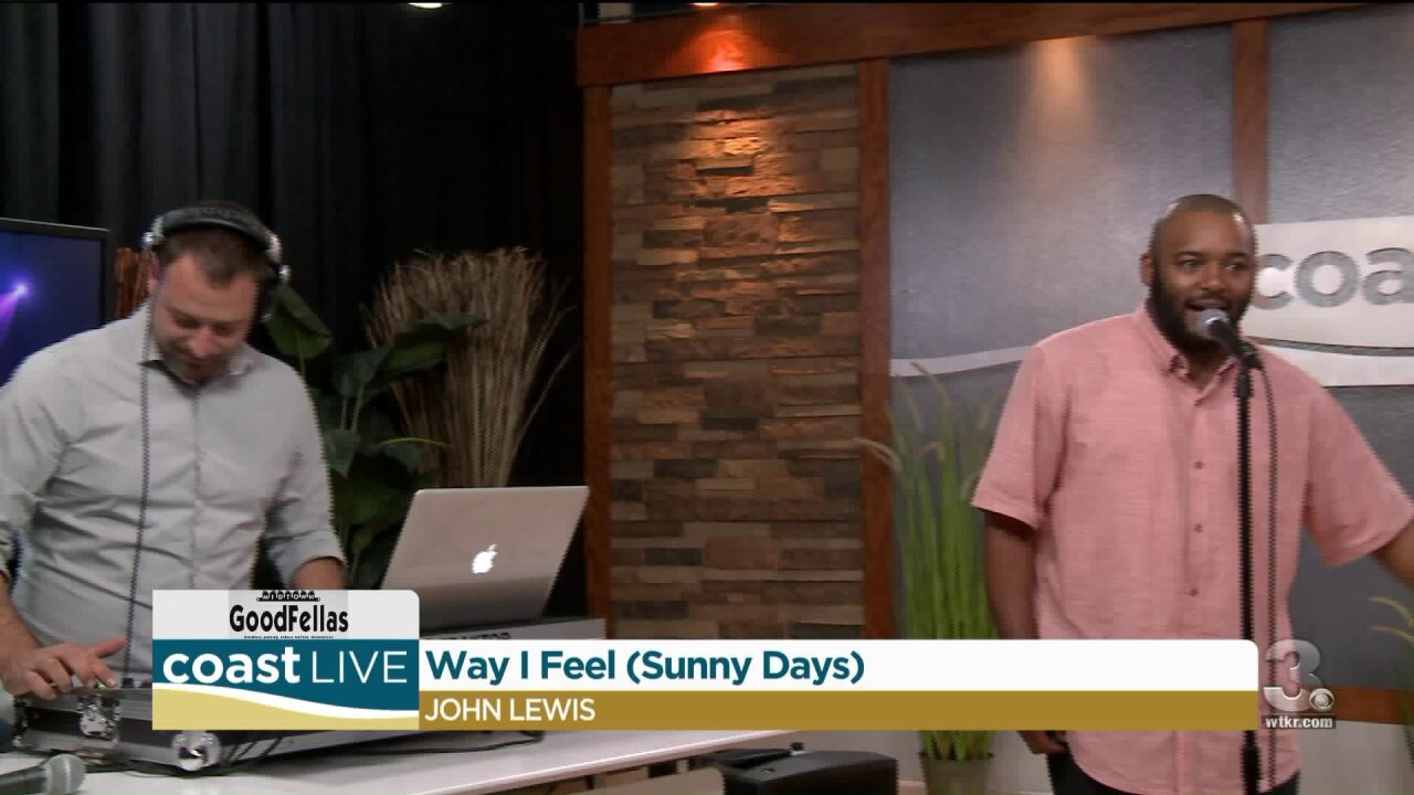 John Lewis shares live and local music on CoastLive