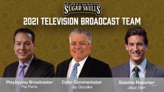 The Tucson Sugar Skulls announced the broadcast team for the 2021 season.