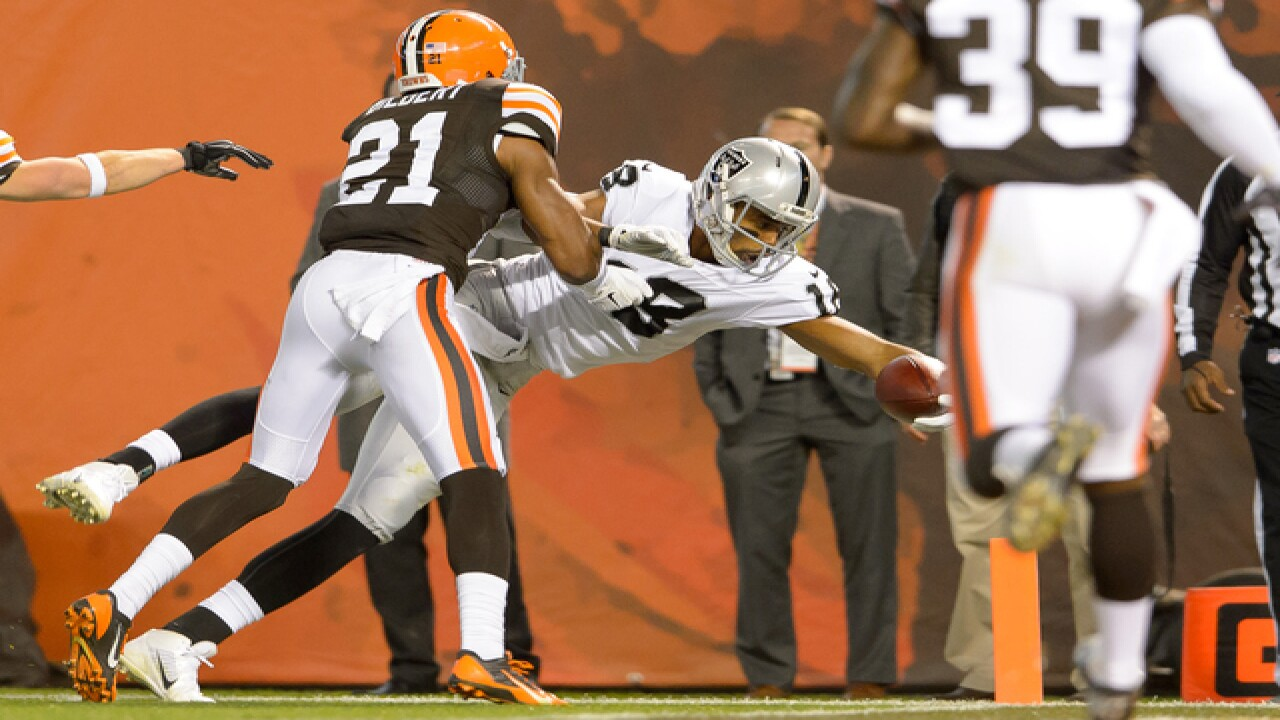 PHOTO GALLERY: Browns battle Raiders in Week 8