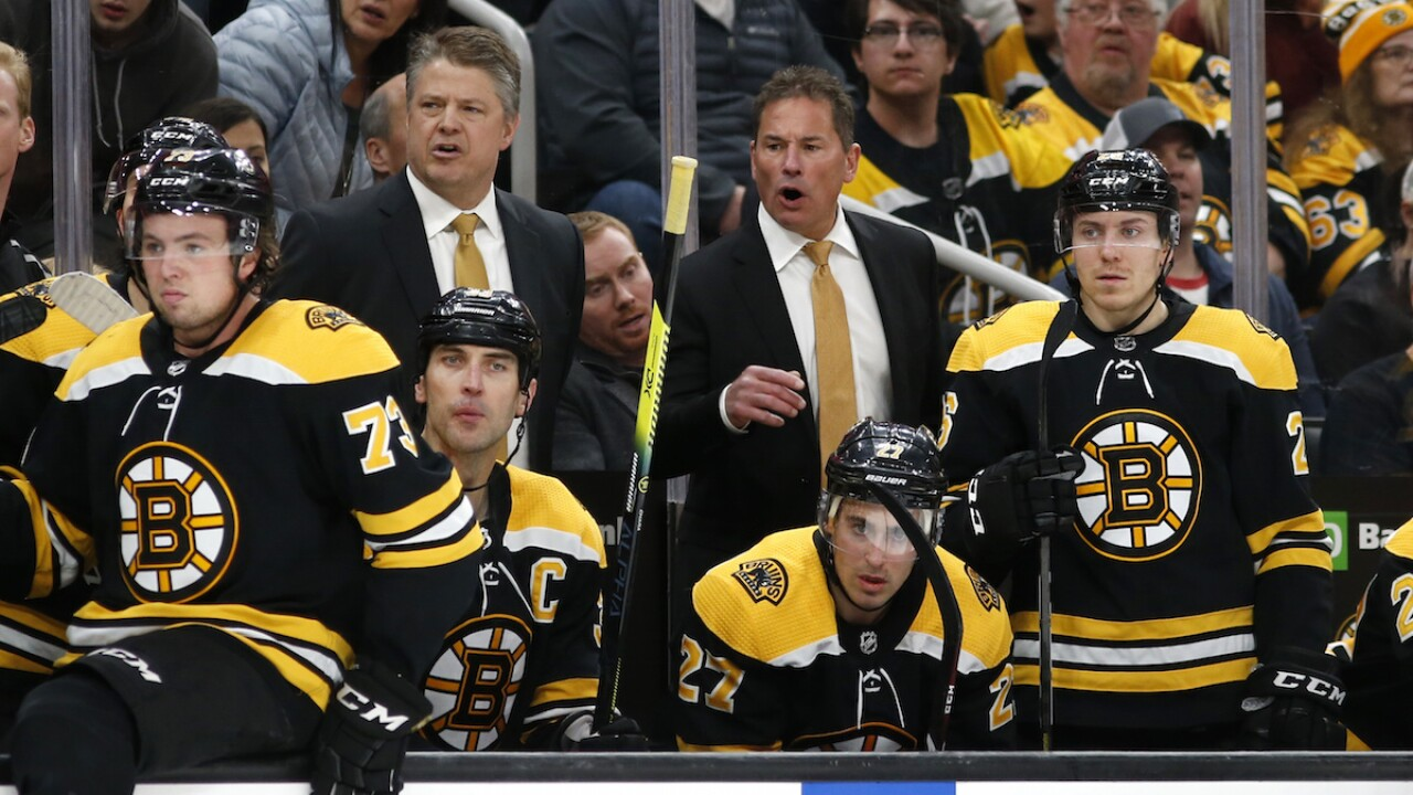 Boston Bruins player tests positive for COVID-19