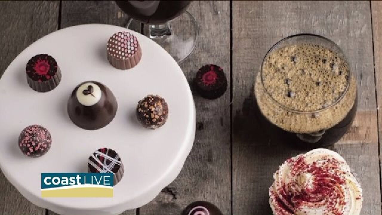 COVA Magazine says mix chocolate and beer for Valentine's Day on CoastLive