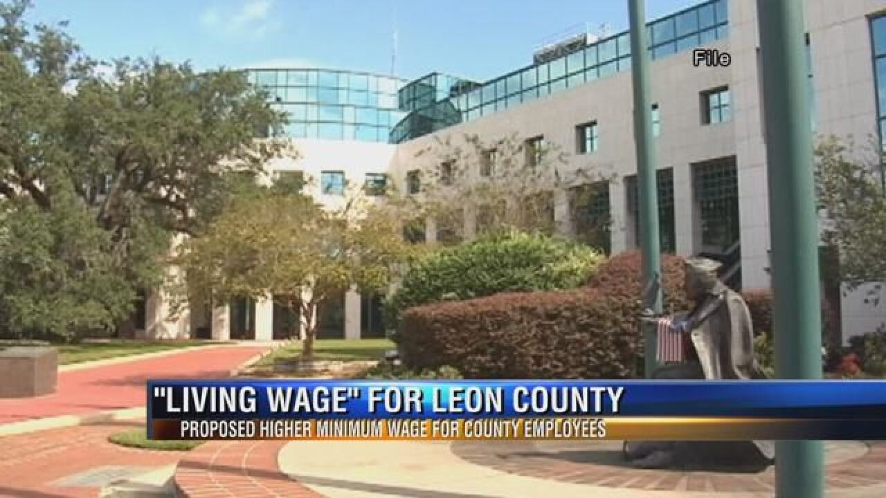 """Leon County Commissioners Consider """"Living Wage"""" for County Employees"""