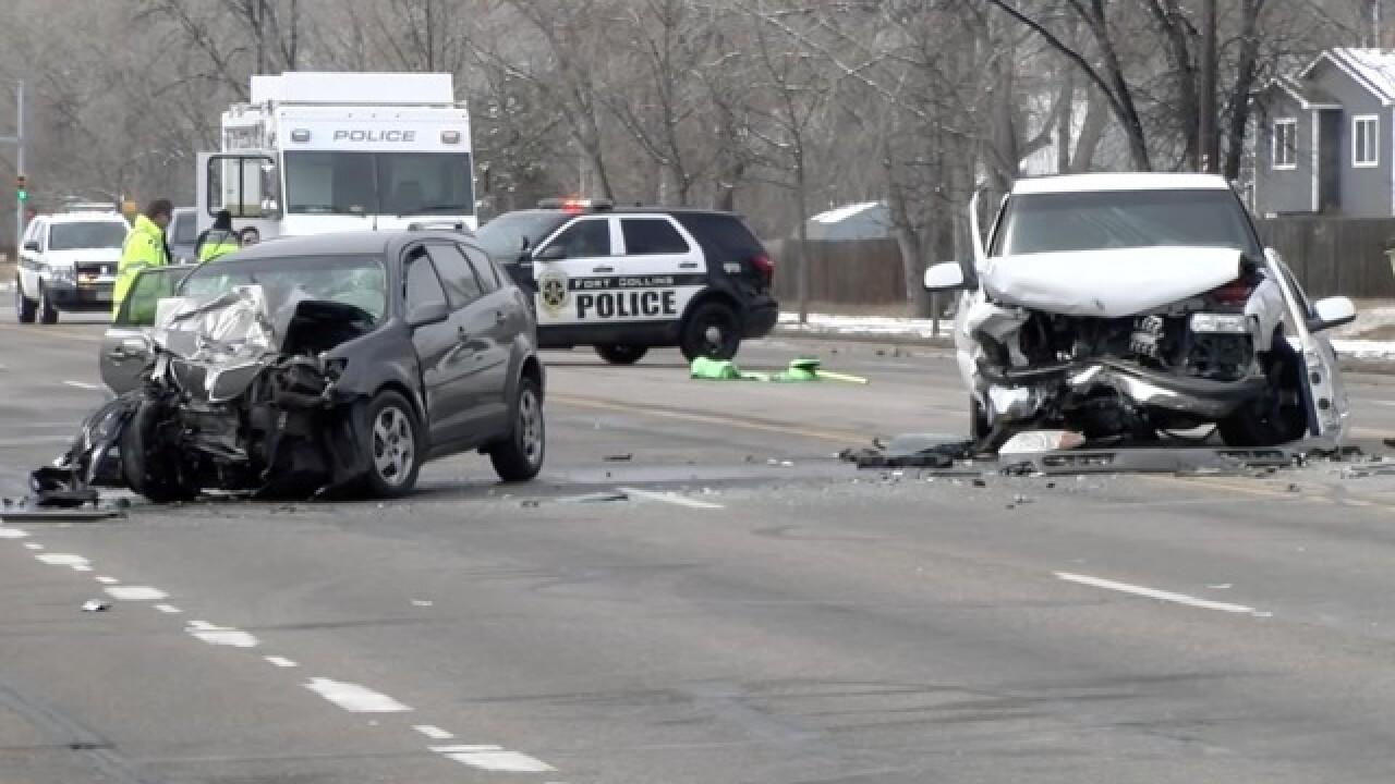 2 dead, 2 injured in head-on crash in Fort Collins
