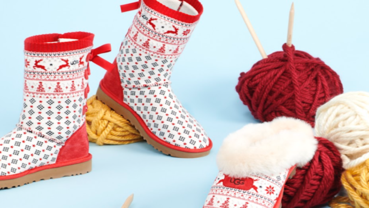 Keep Your Feet Warm In These Festive Holiday-themed UGGs
