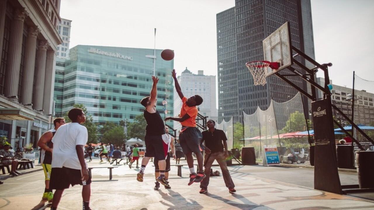 Sports Zone returns to Campus Martius park