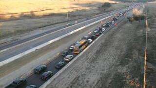 Crash on I-25 NB
