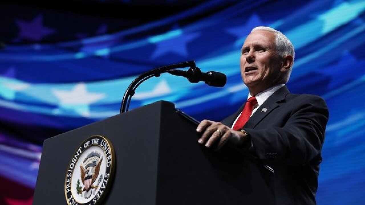 VP Mike Pence says Space Force will be sixth military branch by 2020