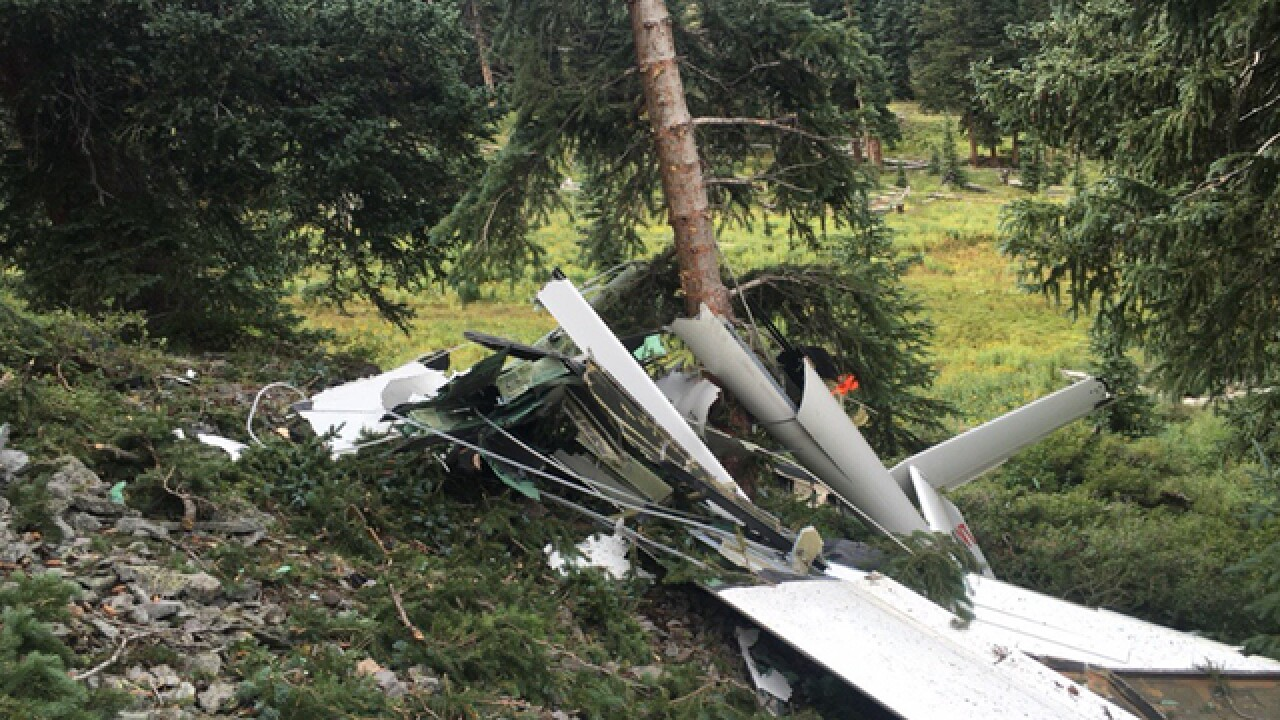 Men who died in glider crash at Telluride Ski Resort ID'd