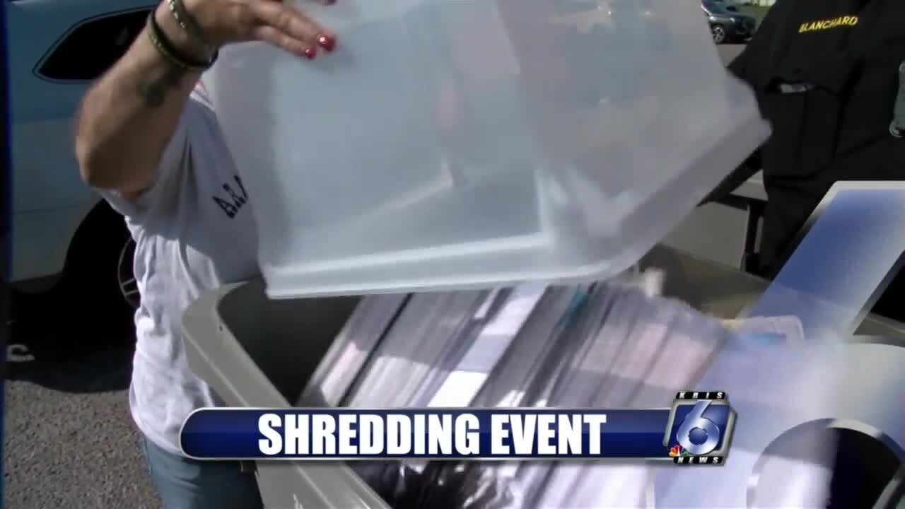 BBB conducts shredding event at Whataburger Field on Saturday