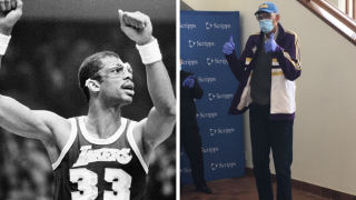 Kareem Abdul-Jabbar gifts 900 pairs of goggles to California healthcare network
