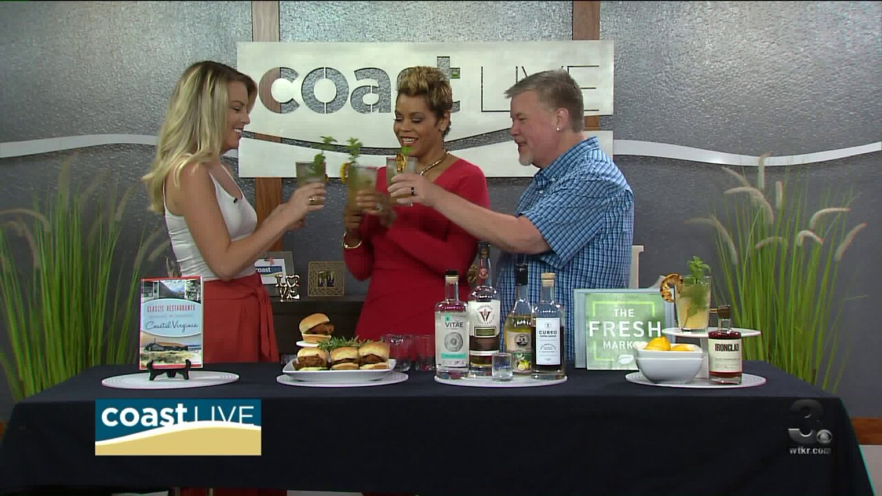 Celebrating the start of Summer with Chef Patrick on CoastLive
