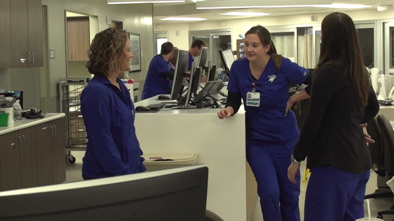 Hospital works to ease stress for employees who work in trauma care