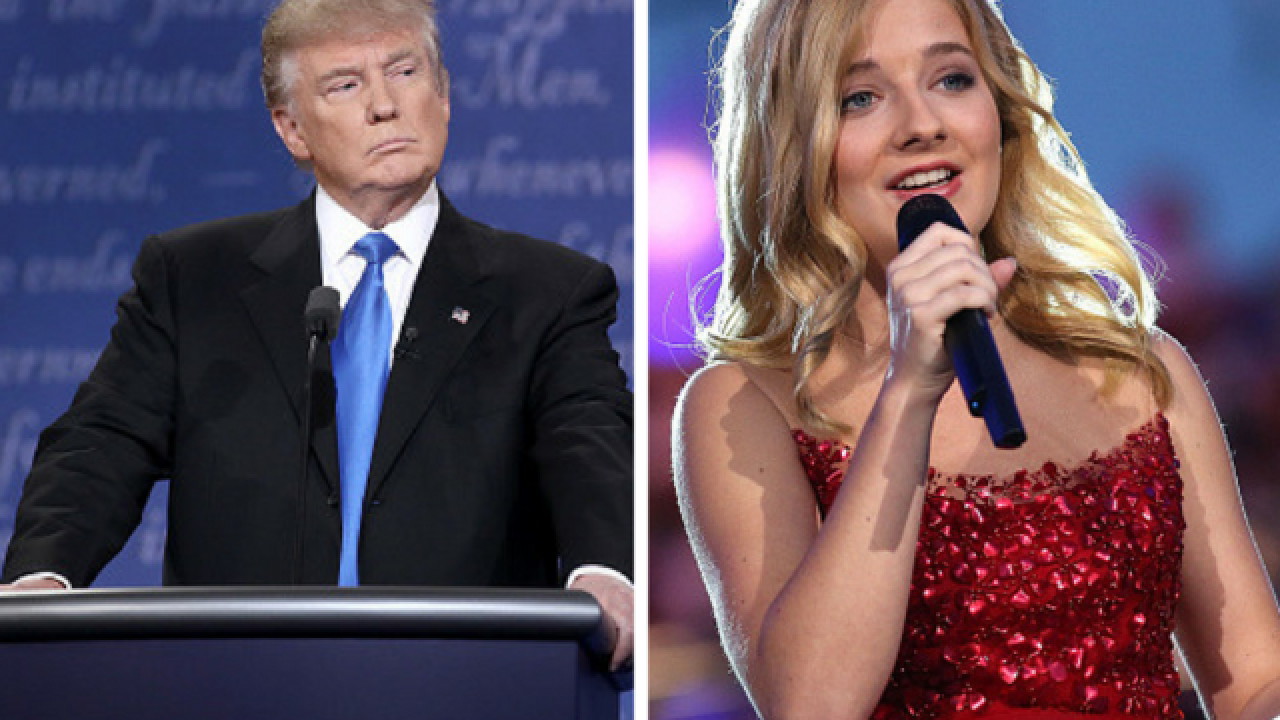Donald Trump takes credit for singer's increased album sales