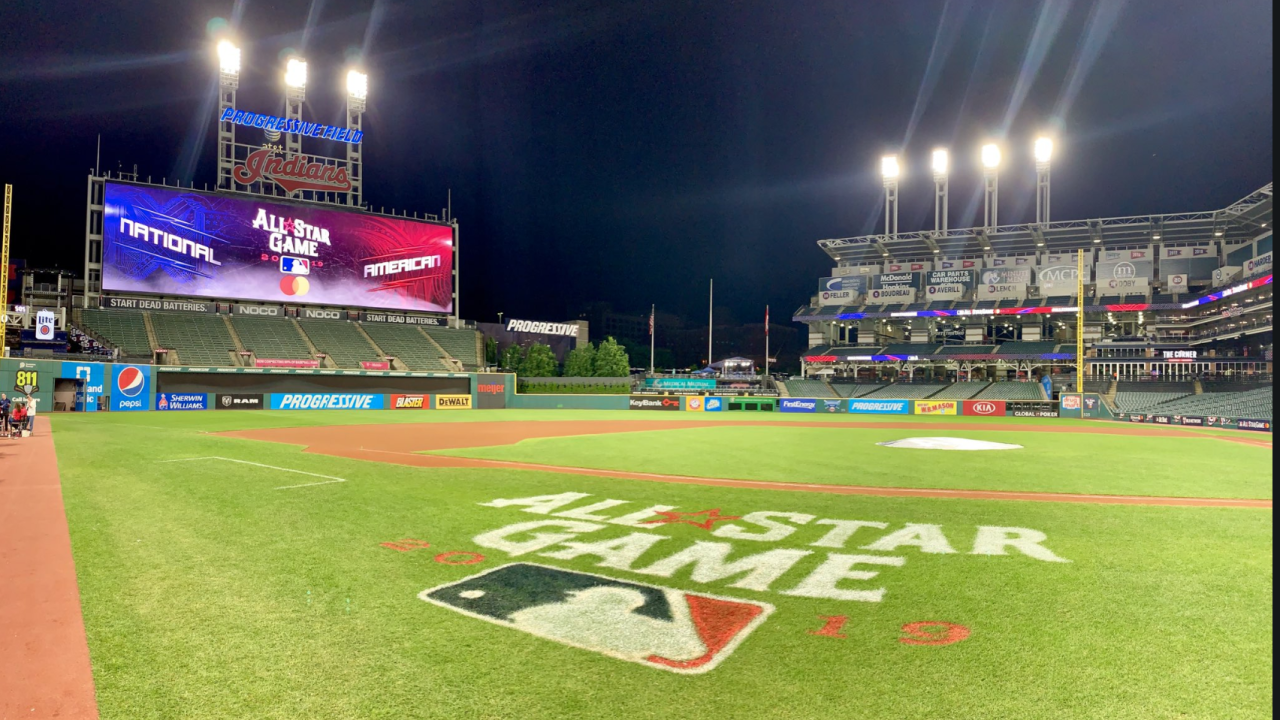 2019 All-Star Game in Cleveland at Progressive Field.