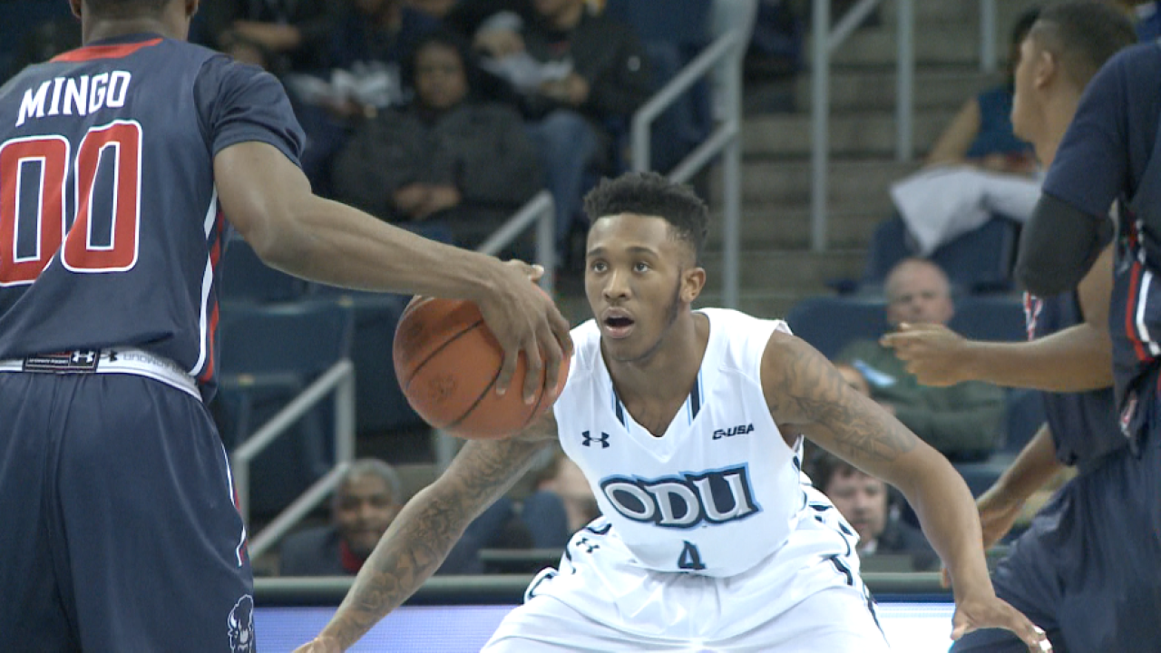 ODU guard Ahmad Caver named to Preseason All-Conference USA team