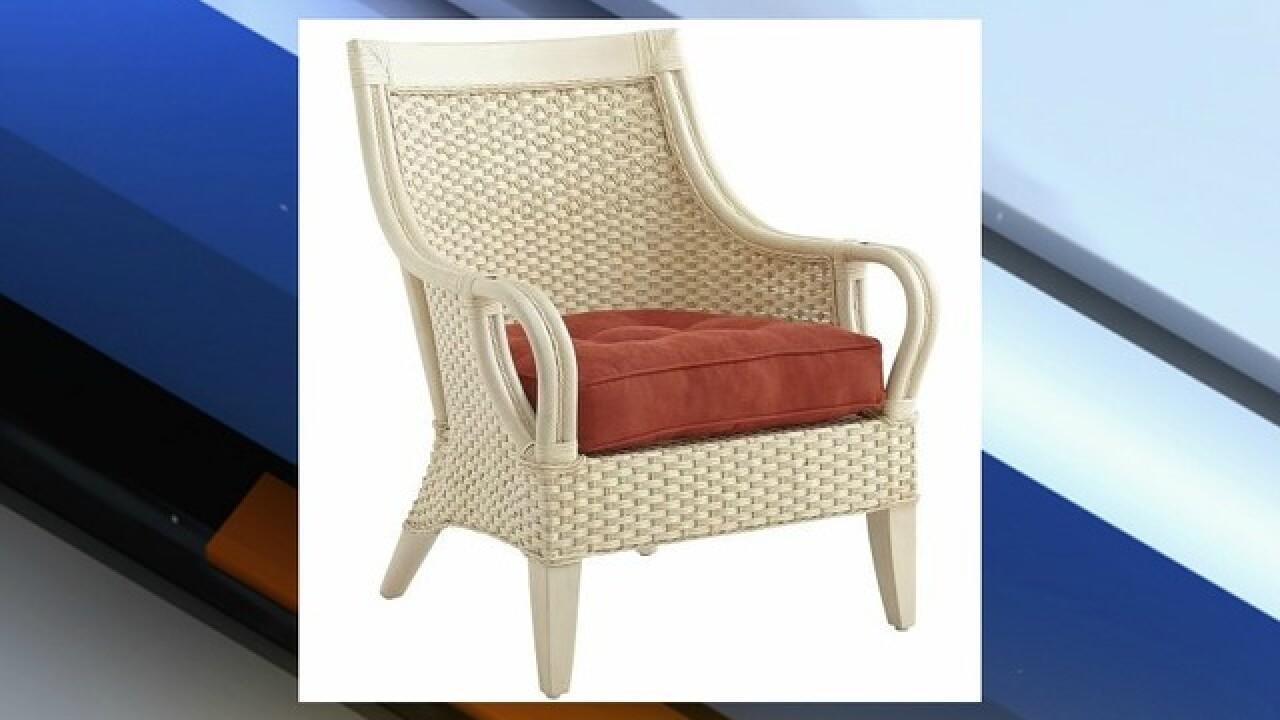 Pier 1 Imports Recalls Wicker Furniture
