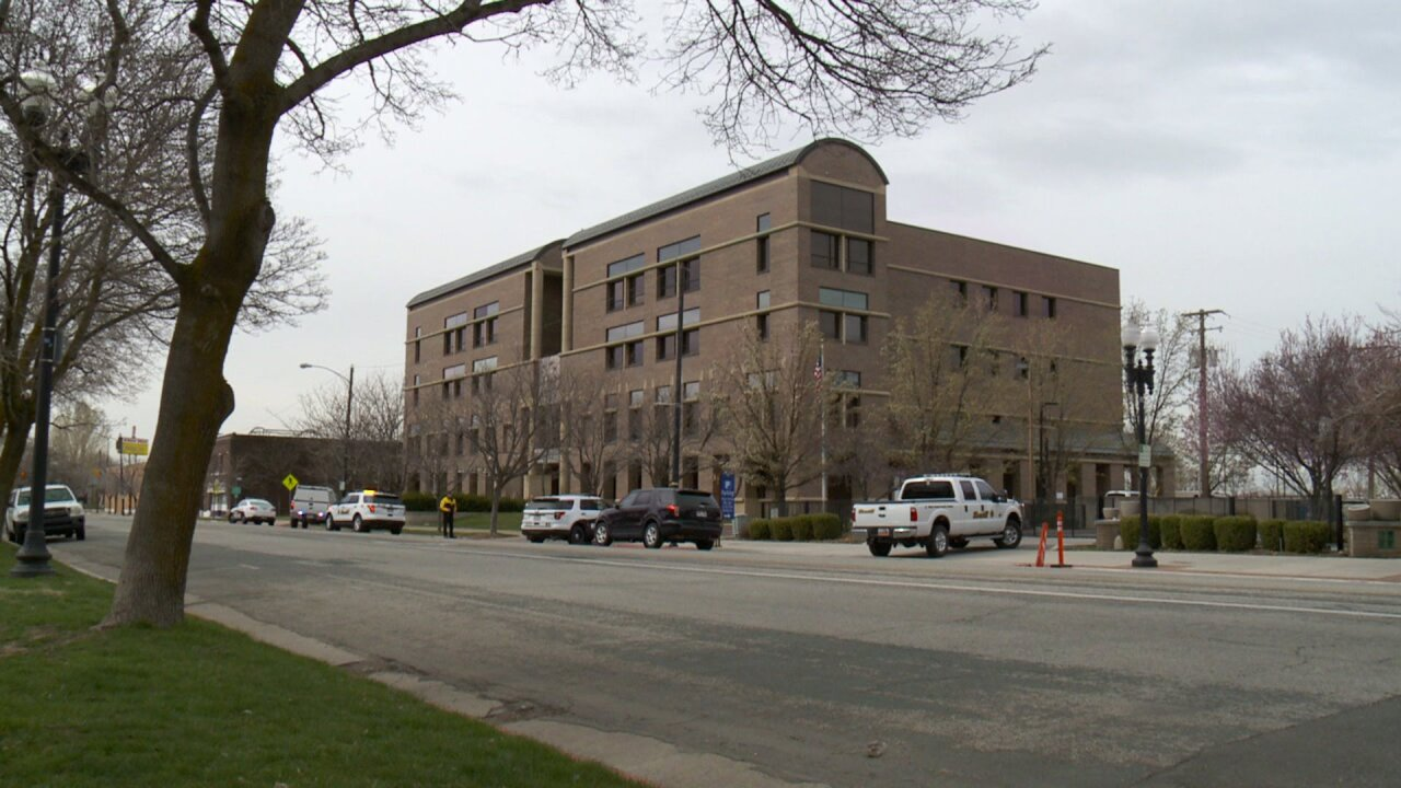 Ogden Courthouse evacuated over bomb threat