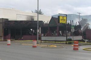 Fire destroys Thompson Falls restaurant